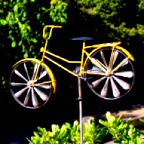 Vélo Bicycle YELLOW